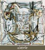 Soufle d'Oies Kunst av Jean-Paul Riopelle