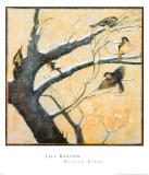 Winter Birds Pósters por Jill Barton