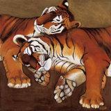Sleeping Tigers Art par LISA BENOUDIZ