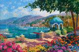 Italian Lakes I Posters av Julian Askins