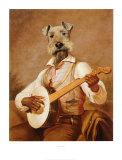 The Troubadour Kunst af Thierry Poncelet