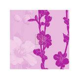 Plum Blossom V Affischer av Kate Knight