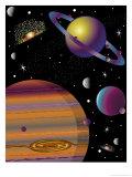 Planètes Affiche
