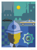 UK Police Montage Affiches