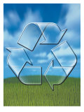 Recycle Symbol Affiches