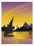 Nile River, Egypt Affiches