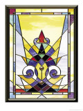 Stained Glass Texture Posters