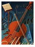 Classical Music Montage Print