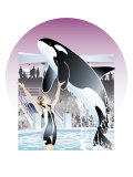 A Trained Orca Posters