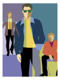 Men's Fashion Montage Affiches