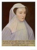 Mary Queen of Scotland Giclee Print by Francois Clouet