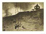 The War of the Worlds, The First Victims of the Martian Heat-Ray Lámina giclée por Henrique Alvim Corrêa