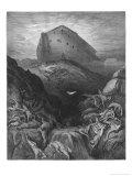 Arche de Noé Reproduction procédé giclée par Gustave Doré