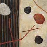 Sticks and Stones I Poster af Glenys Porter