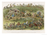 The Elf King's March of Triumph Lámina giclée por Richard Doyle