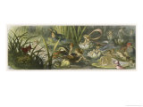 Water-Lilies and Water Fairies Lámina giclée por Richard Doyle