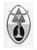 The Eye of Shiva a Magical Protective Sign of the Indians Giclee Print by J.f.c. Fuller