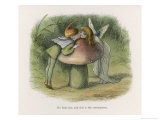 An Elf-Fairy Romance: He Finds Her and This is the Consequence Lámina giclée por Richard Doyle