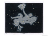 The Constellation of Andromeda Giclee Print by Charles F. Bunt