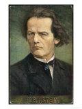 Anton Rubinstein Russian Musician Giclee Print by  Eichhorn