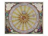 Copernicus's System Giclée-Premiumdruck von Andreas Cellarius