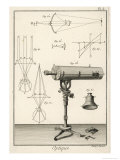 An Optique Telescope Giclee Print by  Benard