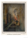 Visiting the Remains of the Theatre at Herculaneum Giclee Print by Gia Gigante