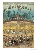 Roundabout Music Cover Gicléetryck av Alfred Conconeneti