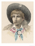 Annie Oakley Giclee Print by Jules Garnier