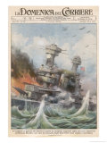 Attack on Pearl Harbour Gicléetryck av Achille Beltrame