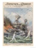 Attack on Pearl Harbour Gicléetryck av Achille Beltrame