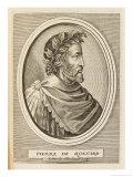 Pierre Ronsard French Poet Giclee Print by Nicolas de Larmessin