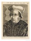 Francesco Guicciardini Florentine Historian and Politician Giclee Print by Nicolas de Larmessin