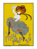 Poster for Le Frou-Frou Humorous Magazine Giclee Print by Leonetto Cappiello