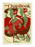 Poster for the Chap Book Usa Giclee Print by Will H. Bradley