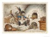 Napoleon the Gingerbread Baker Creating New Kings, a Comment Giclée-vedos tekijänä James Gillray