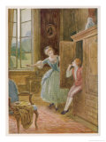 The Marriage of Figaro Giclee Print by Charles A. Buchel