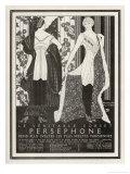 The Veritable Corset Persephone Renders the Sveltest Parisiennes Even Svelter ジクレープリント : マキシミリアン・フィッシャー