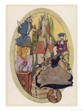 In This Translation the Tin Soldier is Described as Hardy But More Usually He is Constant Lámina giclée por Harry Clarke