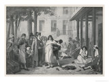 At la Salpetriere Paris Philippe Pinel Orders the Manacles Removed from the Mental Patients Giclee Print by Tony Robert-fleury