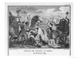 Crassus Member of Triumvirate with Caesar and Pompeius Wages War Against Parthians Reproduction procédé giclée par Augustyn Mirys