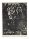 Boston Tea Party 1773 Giclée-Druck von W.h. Overend
