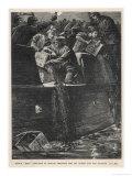 Boston Tea Party 1773 Lámina giclée por W.h. Overend