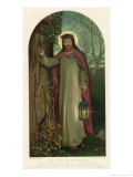 Jesus of Nazareth Religious Leader of Jewish Origin Giclee Print by William Holman Hunt