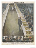 Playing Fifty Games of Chess Simultaneously Giclee Print by Vittorio Pisani