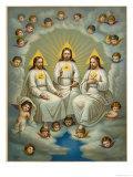 The Holy Trinity Lámina giclée por  Leiber