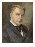 Hugo Wolf Austrian Composer Giclee Print by Ludwig Nauer