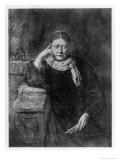 Helena Petrovna Blavatsky Russian Mystic Writer &C Circa 1889 Giclée-Druck von H. Schmiechen