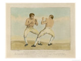 Mendoza vs. Humphry Giclee Print by C.r. Ryley