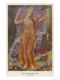 Ishtar, The Babylonian Goddess of Fertility and Love Gicléetryck av Evelyn Paul